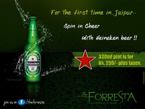 Heinekin Beer
